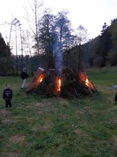 Pálení Cetenovských čarodějnic 2019